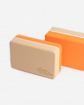 Blok na jógu Orange Juice S