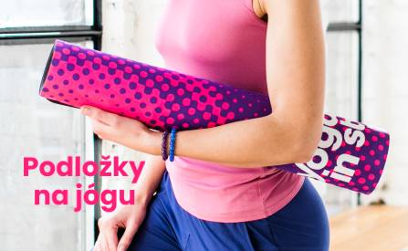 Designové podložky na jógu
